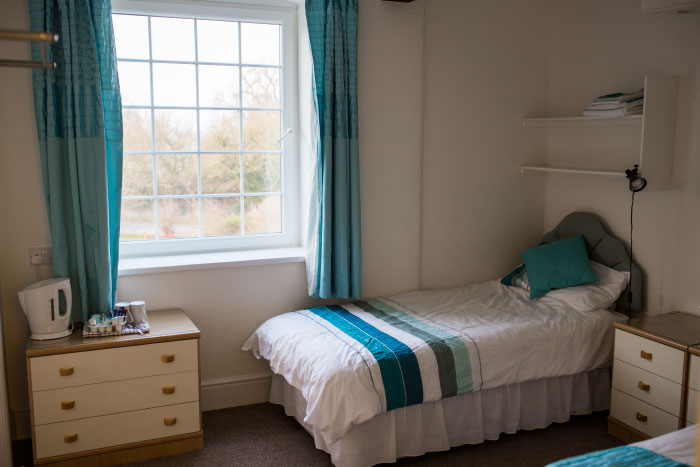 The second floor has a self-catering kitchen and a meeting/dining room seating up 40 people. This floor also has 4 twin bedrooms with en-suite and 2 twin bedrooms that share a bathroom.