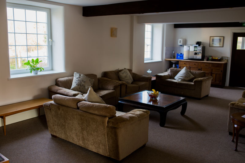 The first floor has the main meeting room seating up to 50 people, a large, comfortable lounge and a smaller lounge.